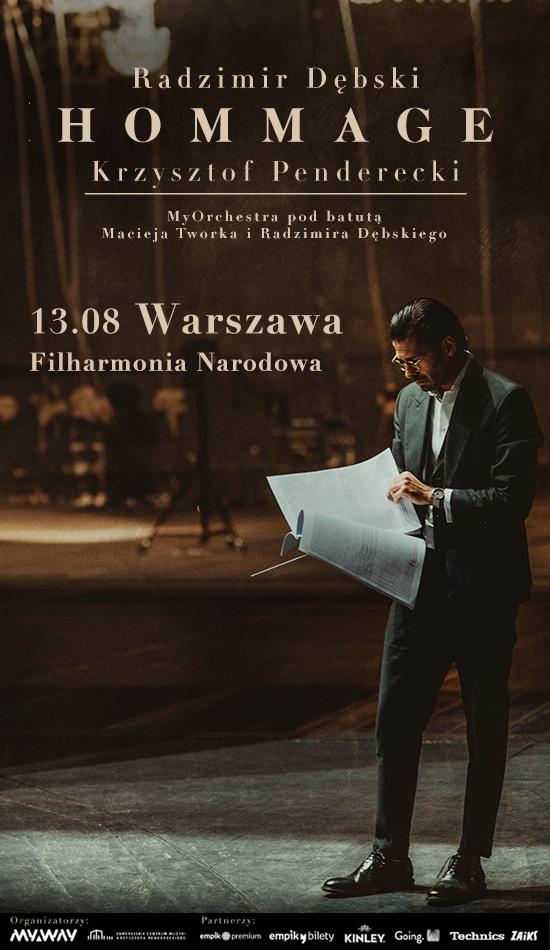 Radzimir Dębski Hommage - Nowa data