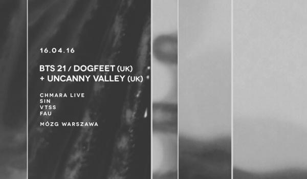 Going. | BTS 22 / Dogfeet UK + Uncanny Valley - MÓZG Warszawa