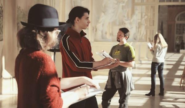 Going. | Klasa rysunkowa - Muzeum Łazienki Królewskie