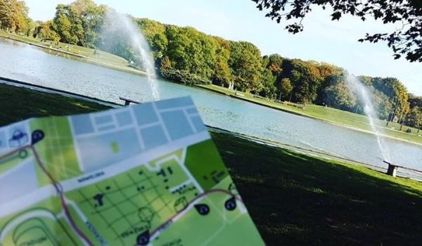 Going. | PORANNY SPACER - Park Pole Mokotowskie