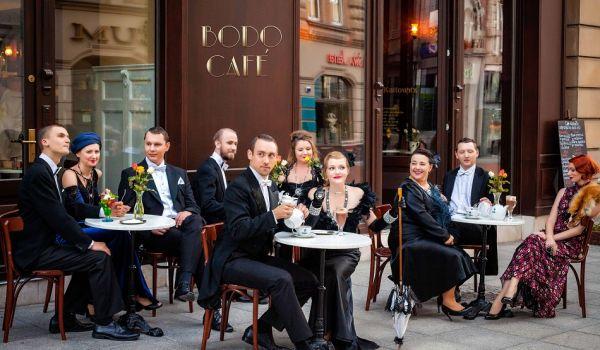 Going. | Noc teatrów: Cafe Bodo - Muzeum AK im. Gen. E. Fieldorfa