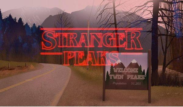 Going. | Twin Peaks vs Stranger Things Halloween - Cafe Kulturalna