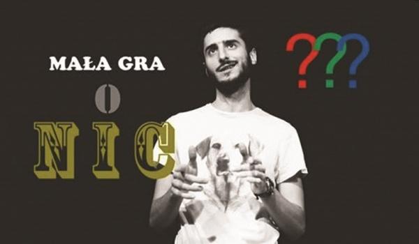 Going. | Mała gra o nic, czyli teleturniej improwizowany - Klub Komediowy
