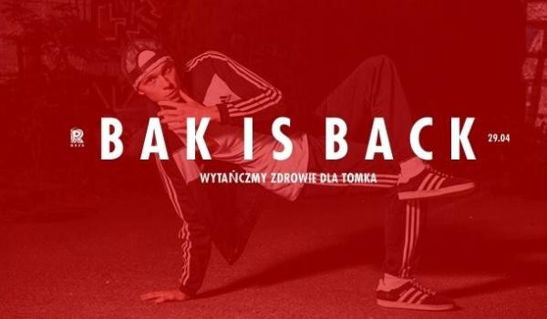 Going. | Bak is Back - Wytańczmy zdrowie dla Tomka! - REJS Klub Muzyczny