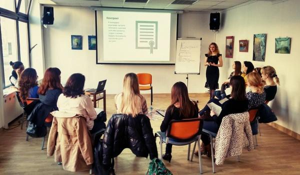 Going. | Warsztaty translatorskie z Anetą Kamińską - Dom Ukraiński w Warszawie Organizacja społeczna
