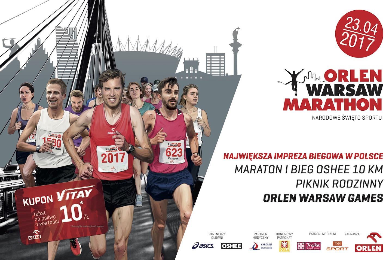 Going. | ORLEN Warsaw Marathon