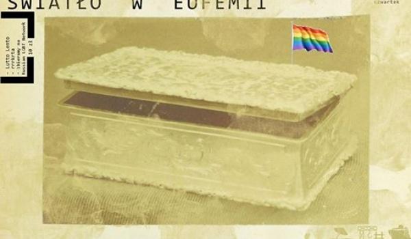 Going.   Światło (benefit! czwartek!) - Klubojadalnia Eufemia