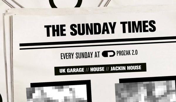 Going. | The Sunday Times x Every Sunday - Prozak 2.0