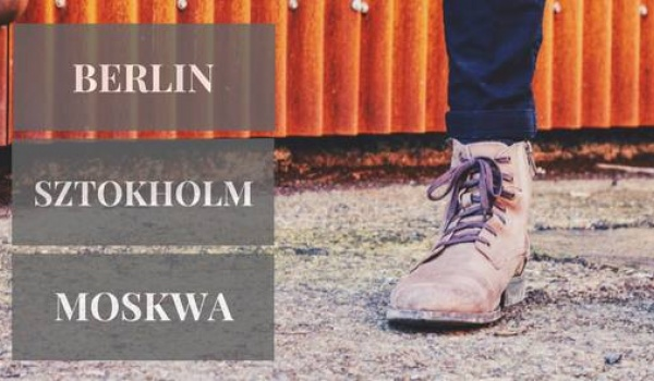 Going. | Fabryka Sztuki & Teatr Chorea On Tour | Berlin-Sztokholm-Moskwa - Fabryka Sztuki w Łodzi