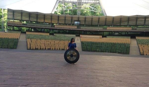 Going. | Gongi w Operze Leśnej - Opera Leśna / The Forest Opera