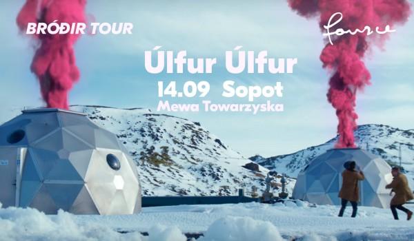 Going. | Ulfur Ulfur w Sopocie - Mewa Towarzyska