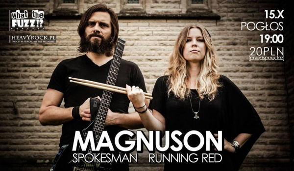 Going. | Magnuson [USA], Spokesman [UK, FIN], Running Red
