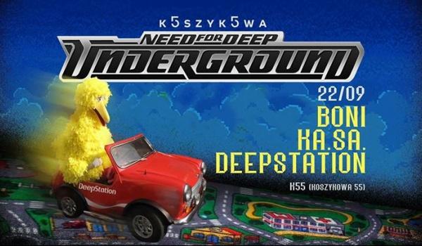 Going. | DeepStation i goście w K 55 - Koszykowa 55