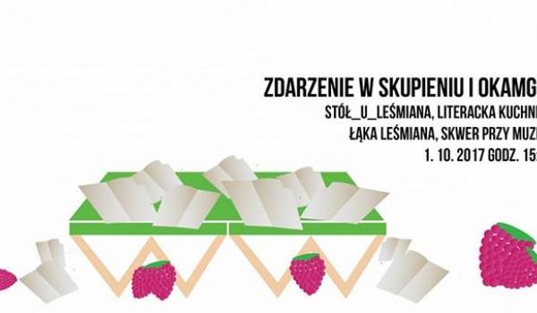 Going.   Stół _u_Leśmiana. Literacka Kuchnia Polowa - Muzeum Historii Żydów Polskich POLIN
