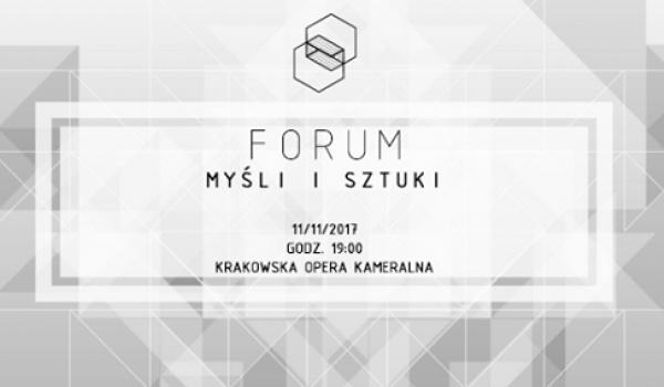 Going. | Forum myśli i sztuki 2017 - Dziedzictwo - Krakowska Opera Kameralna