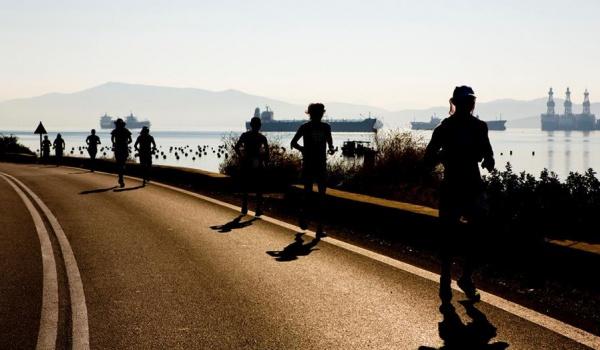 Going.   Biegiem do kina! Pokazy dokumentów o ultramaratończykach - Kino Pod Baranami