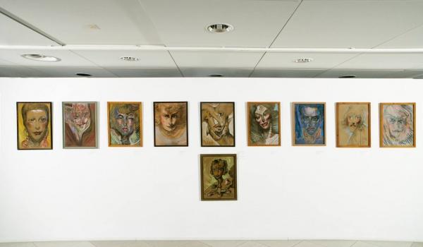 Going. | Świat obrazów - Stanisław Ignacy Witkiewicz, Portrety - Muzeum Narodowe w Poznaniu