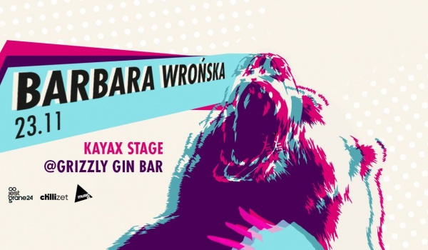 Going. | Barbara Wrońska / Kayax Stage - Grizzly Gin Bar
