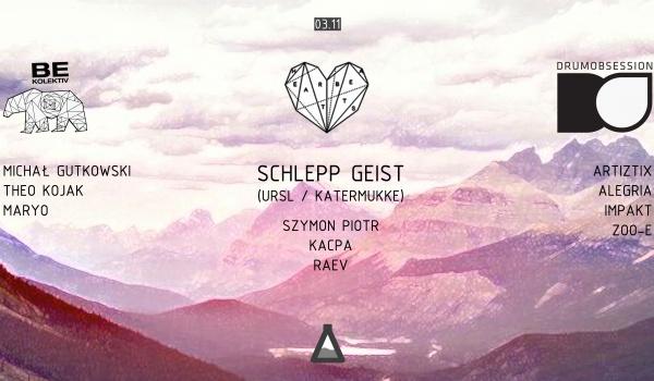 Going. | Heartbeats pres. Schlepp Geist (URSL / Katermukke) 3 Sceny - Projekt LAB