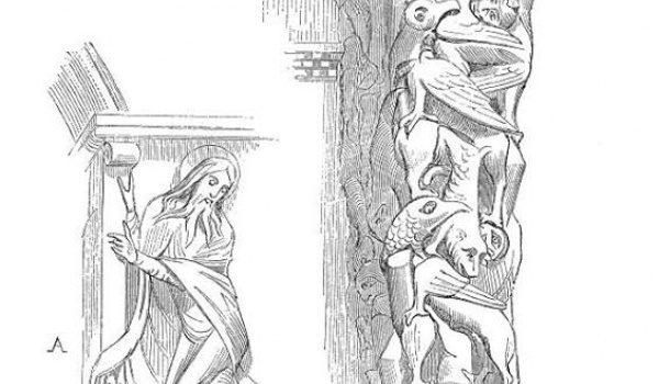 Going. | Portale, chrzcielnice, relikwiarze – rzeźba romańska - Muzeum Miasta Gdyni