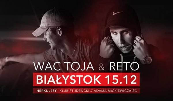 Going. | WAC TOJA x RETO w Białymstoku