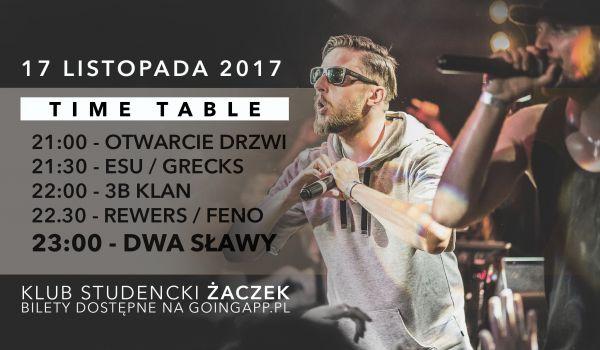 Going. | Dwa Sławy w Krakowie! - Klub Studencki Żaczek