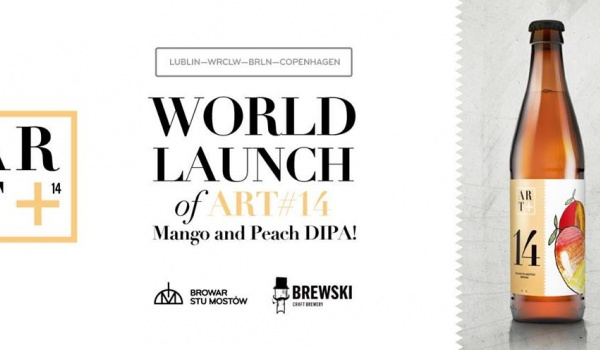 Going. | World launch of Art#14 Mango and Peach DIPA!