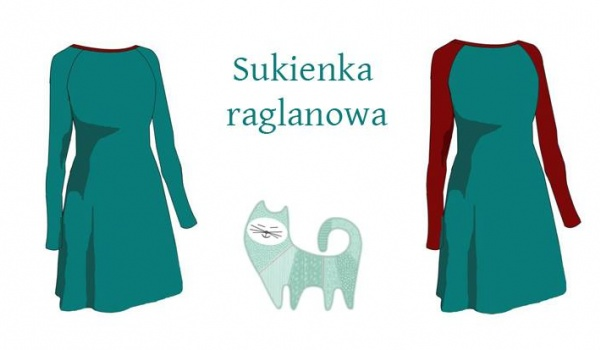 Going. | Dzianiowa sukienka - Koty na Płoty