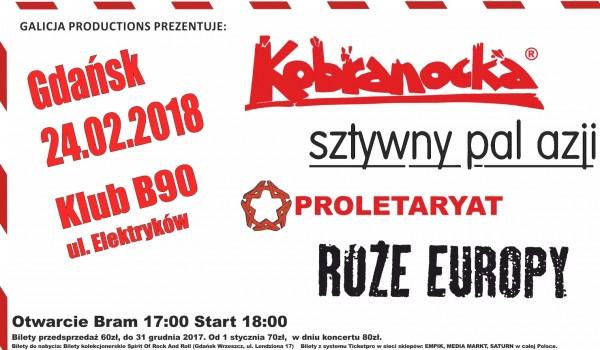 Going. | Kobranocka / Sztywny Pal Azji / Róże Europy / Proletaryat