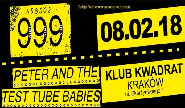 Going. | 999 / Peter And The Test Tube Babies / The Sandals i inni - Klub Studencki Kwadrat