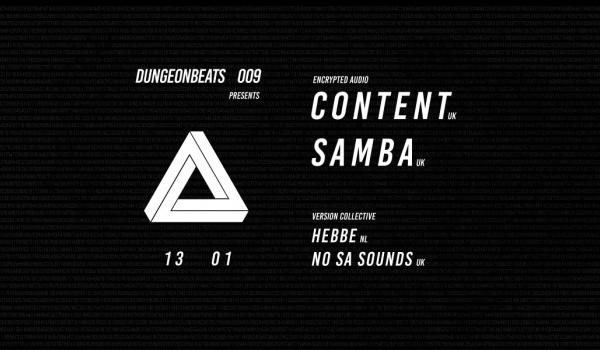 Going. | Dungeon Beats 009 feat. ∆ (Content & Samba) - Projekt LAB
