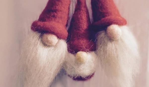 Going. | Świąteczne filcowanie Mikołaja - warsztaty z Filcoki.handmade - Hale Targowe Gdynia
