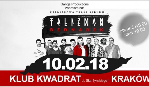 "Going. | Bednarek - Premierowa Trasa Albumu ""Talizman"" - Kraków - Klub Studencki Kwadrat"