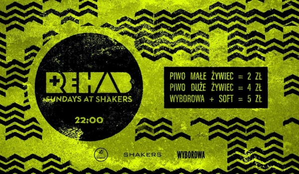 Going. | Rehab - Beer from 2 PLN, Drinks from 5 PLN