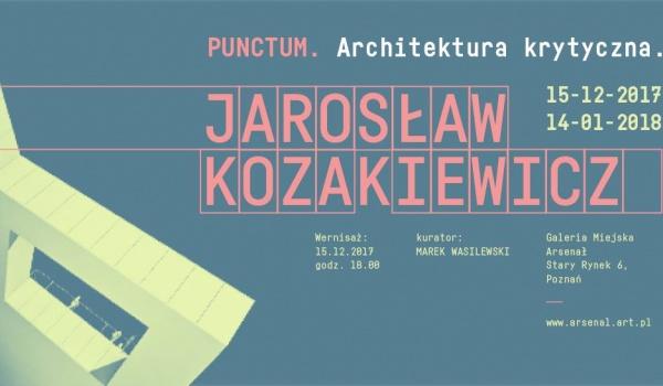 Going.   Punctum. Architektura krytyczna, Jarosław Kozakiewicz - wernisaż - Klubokawiarnia Meskalina