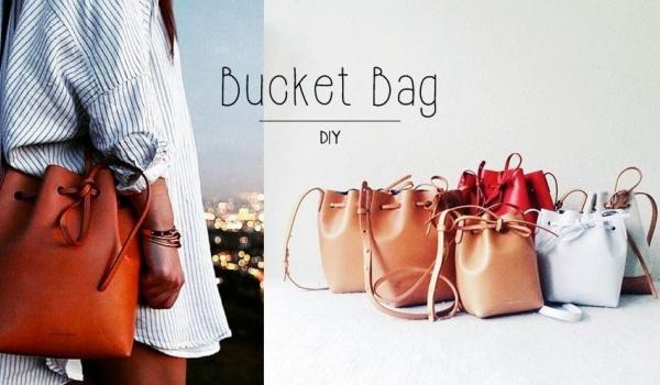 Going. | Co Ja Szyje - Bucket Bag
