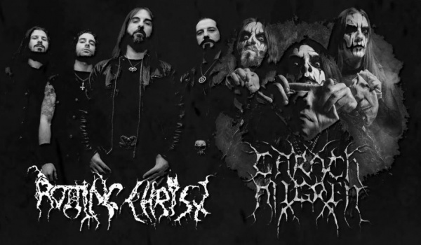 Going. | Rotting Christ + Carach Angren, Svart Crown - MegaClub