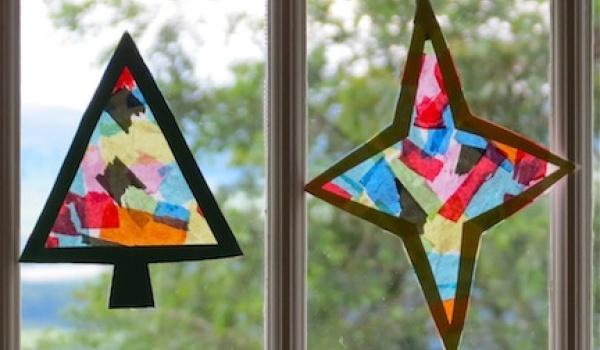 Going. | Papierowe Witraże - warsztaty tworzenia ozdób świątecznych - Dom Sztuki