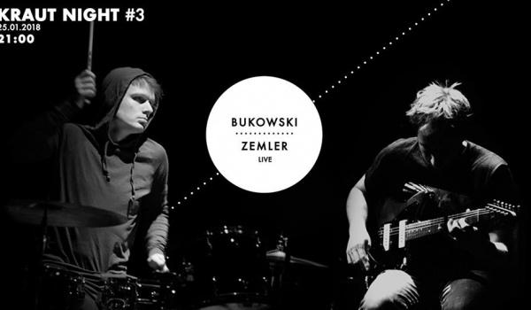 Going.   Krautnight #3: Opel Obertasy / Bukowski & Zemler