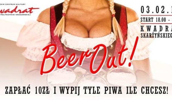 BeerOut! - Zapłać 10 zł i Wypij Tyle Piwa Ile Chcesz!