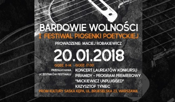 Going. | Festiwal Piosenki Poetyckiej Bardowie Wolności