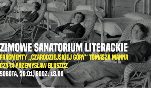Going. | Zimowe sanatorium literackie. Słuchowisko z wizualizacjami