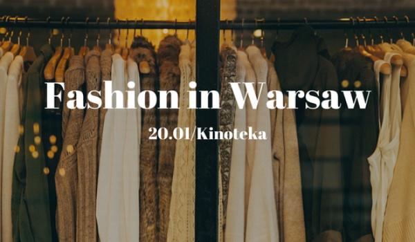 Going. | Fashion in Warsaw - targi polskiej mody! - Kinoteka