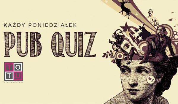 Going. | Poniedziałek = Pub Quiz