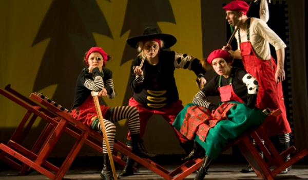 Going. | Koziołek Matołek - Teatr Guliwer