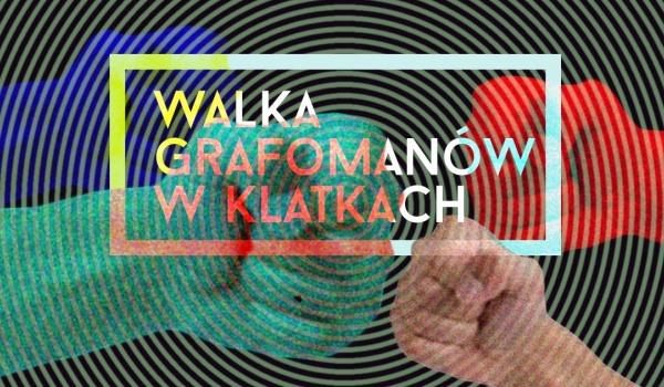 Going. | Walki grafomanów w klatkach - Teatr Barakah / ArtCafe Barakah