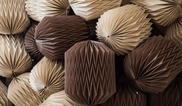 Going. | Dobrze się składa Papierowy Dizajn - Lampa Origami