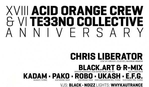 Going.   XVIII A.O.C & VI Te33no anniversary w/ Chris Liberator - Protokultura - Klub Sztuki Alternatywnej