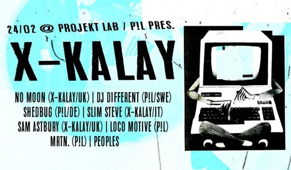 Going. | P!L pres. X-Kalay - Projekt LAB