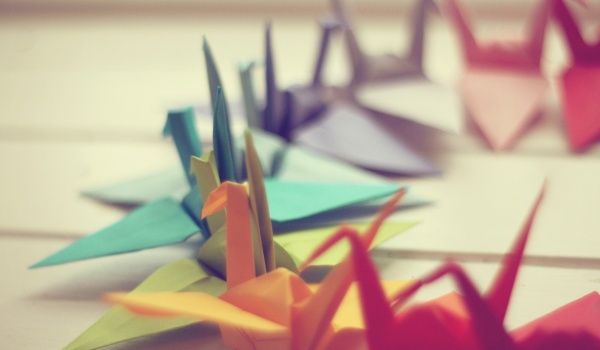 Going. | W świecie origami